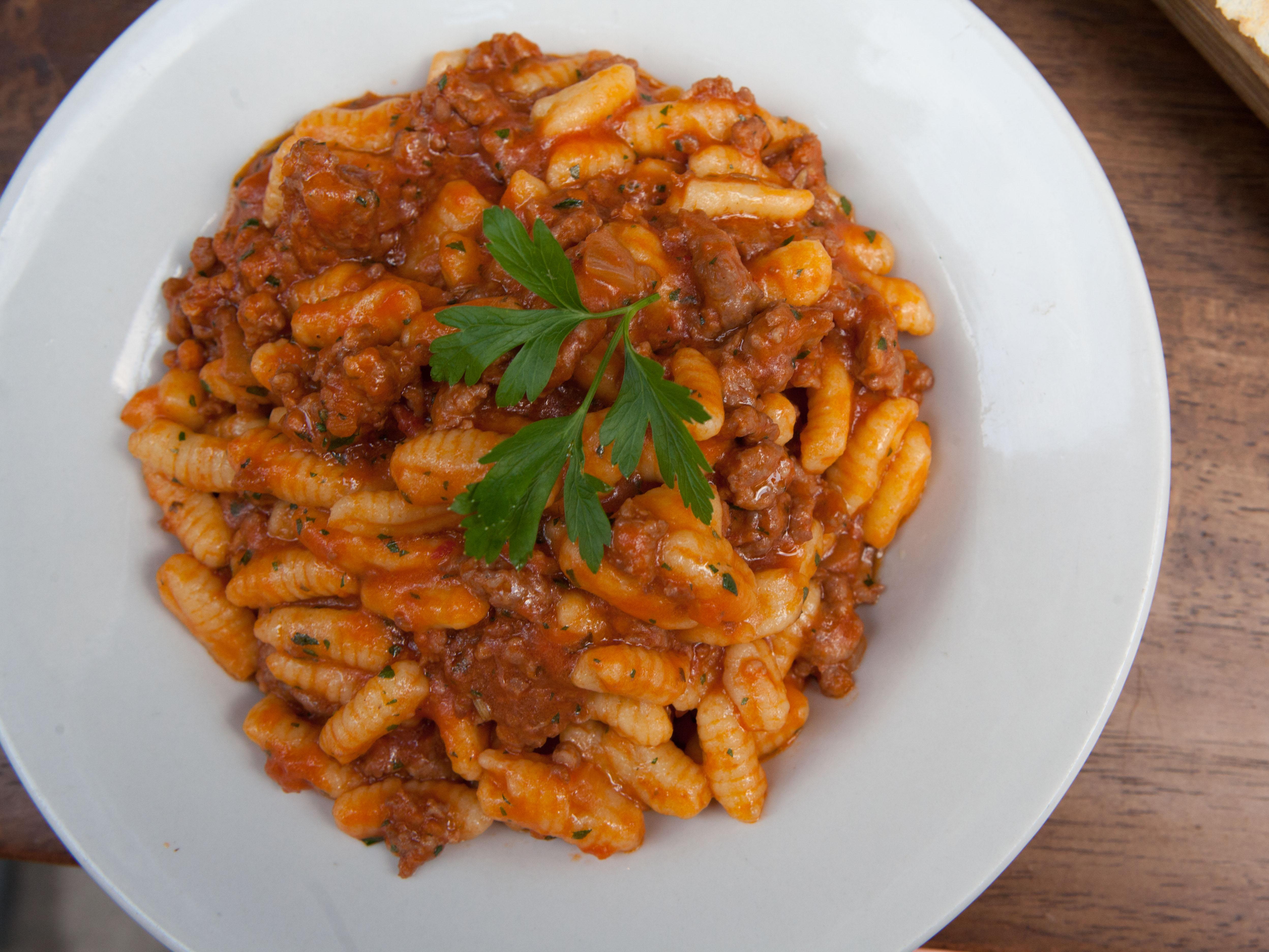 Maloreddos alla Campidanese - Arco Cafè - Sardinian Italian Specialities - New York