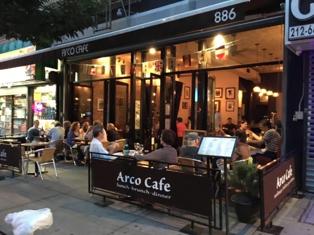 Front Restaurant - Arco Cafè - Sardinian Italian Specialities - New York